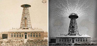 La Torre de transmisión y  laboratorio